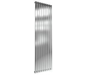 Reina Flox Polished Stainless Steel Single Panel Flat Radiator 1800mm x 531mm
