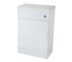 Iona Verona Gloss White Back To Wall Toilet WC Unit 500mm