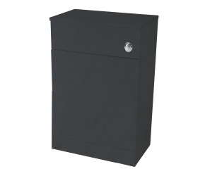 Iona Verona Anthracite Back To Wall Toilet WC Unit 500mm