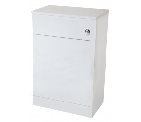Iona Verona Gloss White Back To Wall Toilet WC Unit 600mm