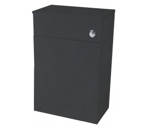 Iona Verona Anthracite Back To Wall Toilet WC Unit 600mm