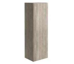 Iona Illumo Grey Oak Tall Boy Storage Cabinet 900mm x 300mm