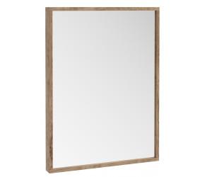 Iona Illumo Rustic Oak Bathroom Mirror 800mm x 600mm