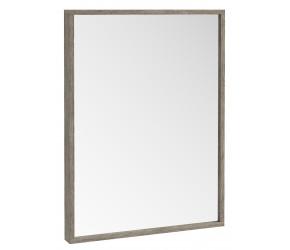 Iona Illumo Grey Oak Bathroom Mirror 800mm x 600mm