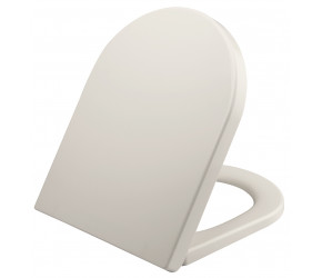 Iona Short D Shaped Soft Close Toilet Seat