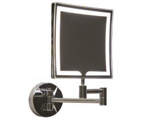 Iona Square LED Wall Mounted Make-Up Mirror 200mm