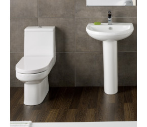 Kartell Bijou 4 Piece Toilet and Basin Bathroom Suite