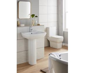 Kartell Korsika Toilet and Basin 4 Piece Bathroom Suite