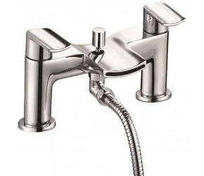 Iona Nero Chrome Bath Shower Mixer Tap