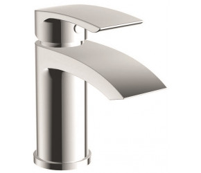 Iona Reno Chrome Mono Basin Mixer Tap With Push Waste