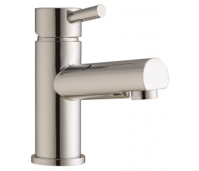 Iona Zico Chrome Mono Basin Mixer Tap With Push Waste