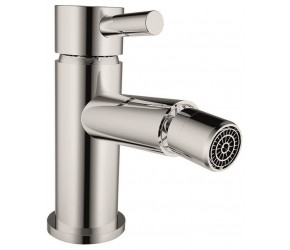 Iona Zico Chrome Bidet Mixer Tap With Pop-Up Waste