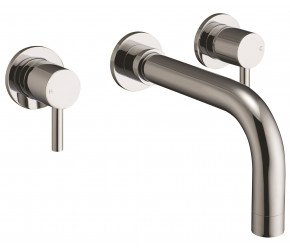 Iona Zico Chrome Wall Mount Basin Mixer Tap