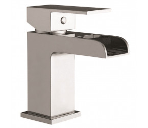 Iona Neto Chrome Mono Basin Mixer Waterfall Tap