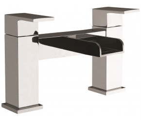 Iona Neto Chrome Bath Filler Waterfall Tap