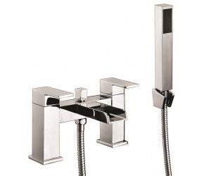 Iona Neto Chrome Bath Shower Mixer Waterfall Tap