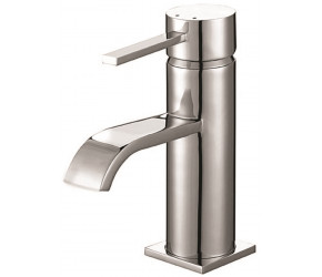 Iona Neo Chrome Mono Basin Mixer Tap With Push Waste
