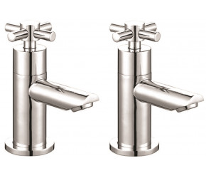 Iona Exo Chrome Crosshead Bath Taps