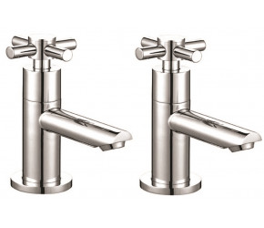 Iona Exo Chrome Crosshead Basin Taps