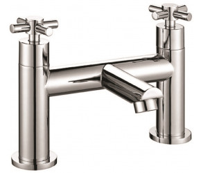 Iona Exo Chrome Crosshead Bath Filler Tap