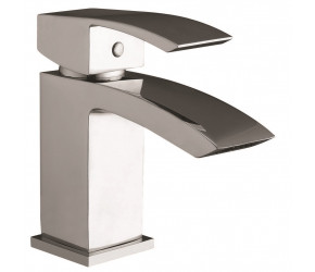 Iona Distro Chrome Mono Basin Mixer Tap With Push Waste