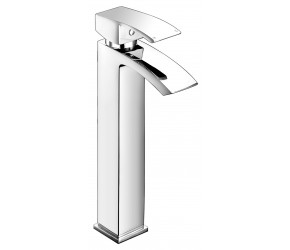 Iona Distro Chrome High Rise Mono Basin Mixer Tap