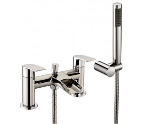 Iona Vino Chrome Bath Shower Mixer Waterfall Tap