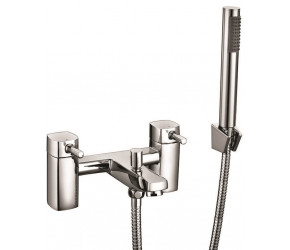 Iona Zero Chrome Bath Shower Mixer Tap