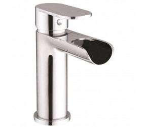 Iona Fino Chrome Mono Basin Mixer Waterfall Tap