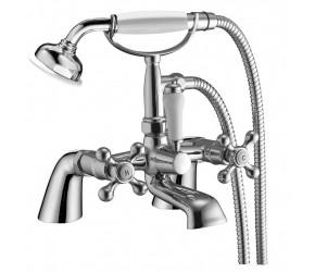 Iona Mito Chrome Traditional Bath Shower Mixer Tap