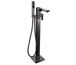 Iona Uno Matt Black Freestanding Bath Shower Mixer Tap