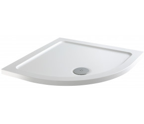 Iona 40mm Stone Resin Quadrant Shower Tray 800mm