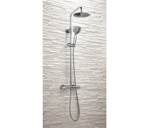 Iona Rondo Thermostatic Bar Shower Valve With Rigid Riser