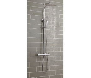 Iona Curvo Oval Thermostatic Bar Shower Valve With Rigid Riser