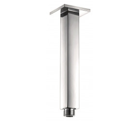 Iona Chrome Square Ceiling Mounted Wall Arm