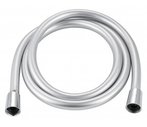 Iona Smooth Silver Shower Hose 1.5m