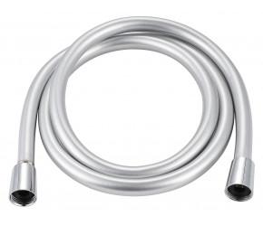 Iona Smooth Silver Shower Hose 1.5m
