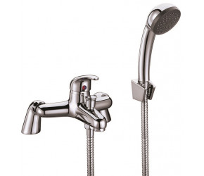Iona Entry Thermostatic Bath Shower Mixer Wall And Deck Mounted
