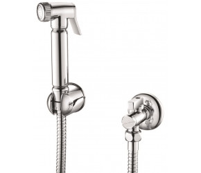 Iona Douche Handset With Flexi Holder And Outlet Elbow