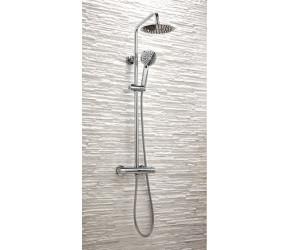 Iona Orbit Round Chrome Shower Set