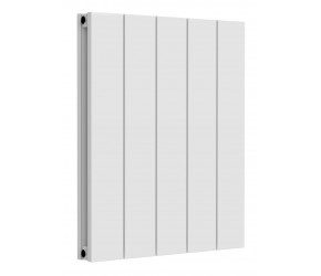 Reina Casina White Aluminium Double Panel Horizontal Radiator 600mm x 470mm