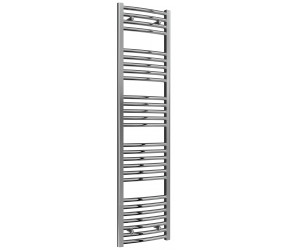Reina Diva Curved Chrome Heated Towel Rail 1600mm x 400mm