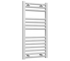 Reina Diva Straight White Heated Towel Rail 800mm x 400mm