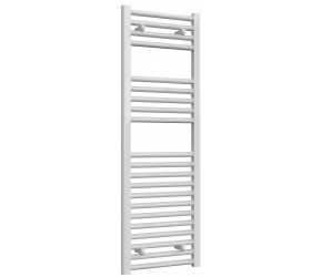 Reina Diva Straight White Heated Towel Rail 1200mm x 400mm