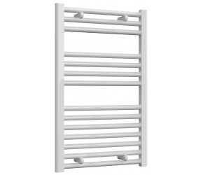 Reina Diva Straight White Heated Towel Rail 800mm x 500mm