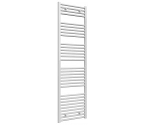 Reina Diva Straight White Heated Towel Rail 1800mm x 500mm