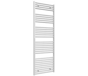 Reina Diva Straight White Heated Towel Rail 1800mm x 600mm