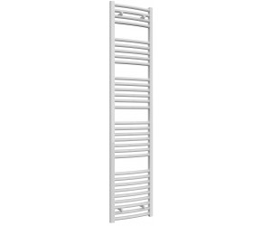 Reina Diva Curved White Heated Towel Rail 1800mm x 400mm