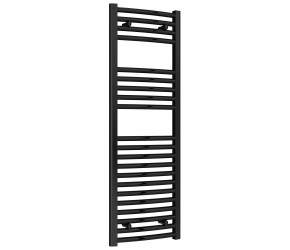 Reina Diva Black Curved Heated Towel Rail 1200mm x 400mm