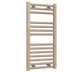 Reina Diva Latte Straight Heated Towel Rail 800mm x 400mm